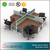 4 Person Office Furniture Workstation 4