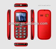 3G flip promotional gift mobile phone for senior people, high quality elder mobile phone
