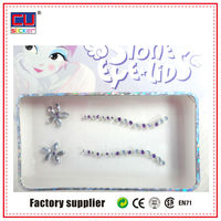 Factory Price Custom Diamond Bling Tattoo Sticker