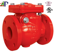 DN80 300PSI UL FM APPROVED SWING CHECK VALVE WITH FLANGED END