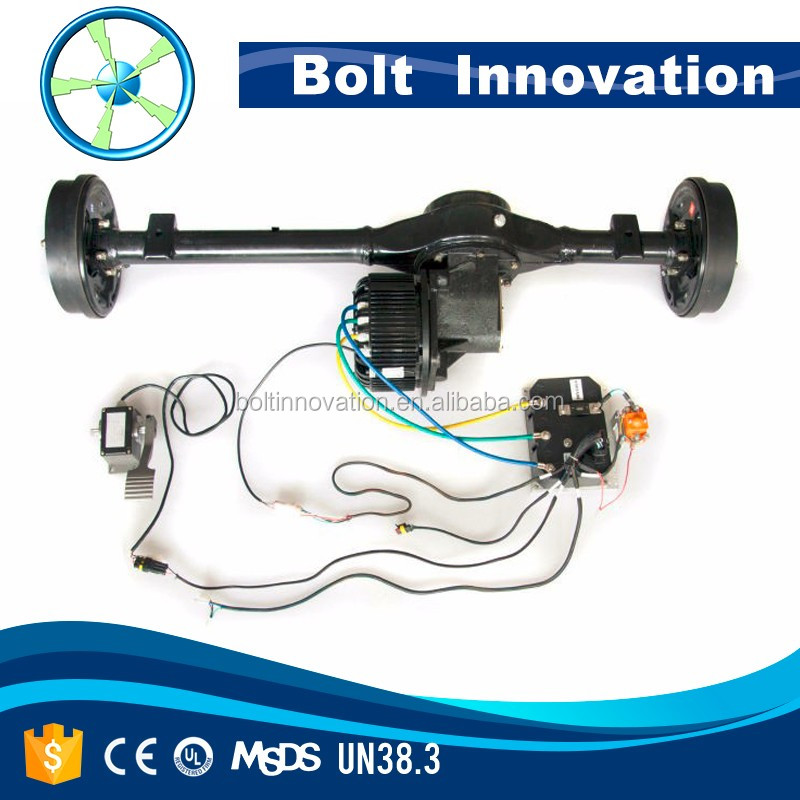 3KW to 100KW electric car motor conversion kit hot sale