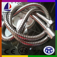 Cixi QIANYAO chrome plated double-lock stainless steel shower flexible pipe