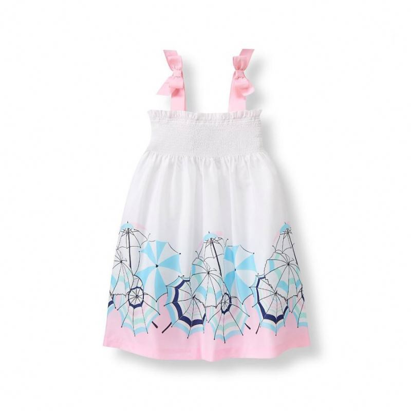 Baby Cotton Frocks Designs Kids Ruffle Sling Party Dress