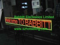 led text scroll led displays / Outdoor GRY LED Display, Unit size 256(L)*25.6(H)*20(D)CM / alibaba express