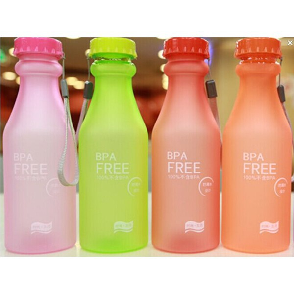 BPA free plastic candy wax bottles leak proof wide mouth 16oz