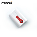 7.4V 2600mAh heated clothing battery rechargeable lithium ion battery with LED indicator