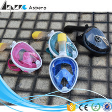 Factory Top Sale snorkel mask full face funny diving mask swim equipment 180 degree full face diving mask for swimming