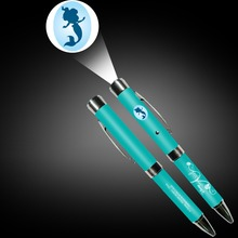 New product portable custom logo projector pen