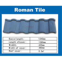 PT Roof- Color Metal Stone Coated Roofing Tiles