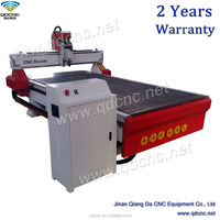 cnc router with auto lurbrication system wood cutter with 2d/3d CAD/CAM program QD-1325C