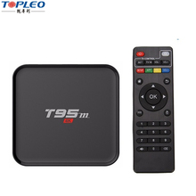 T95M 4K Android TV Box Amlogic S905 Android 5.1 Quad Core CPU TV Box 1080P Media Player 2GB RAM 8GB ROM Smart TV Box