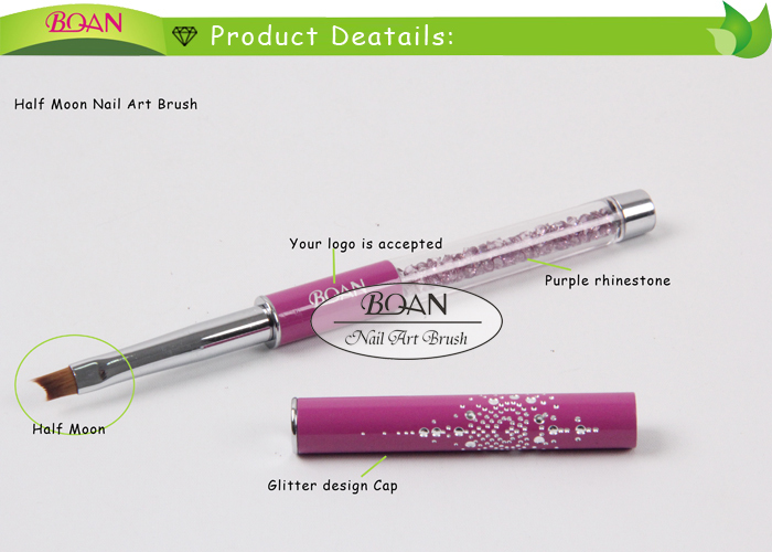 2015 BQAN Rhinestone Nail Art Beauty Design Nail Art Brush Set