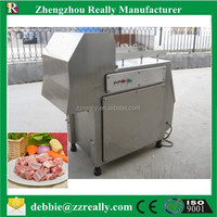 Factory direct sale automatic stainless steel electric frozen meat block cutter