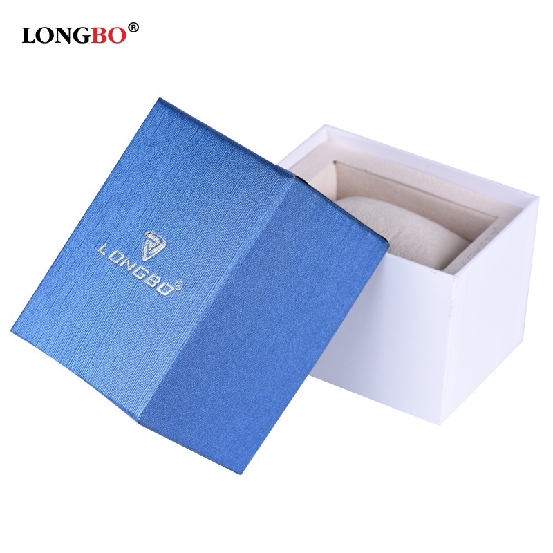 China Supplier LONGBO Brand Watch Box Dispaly Gift Paper Box for Wristwatch 02