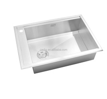 new style modern stainless steel square used kitchen sinks