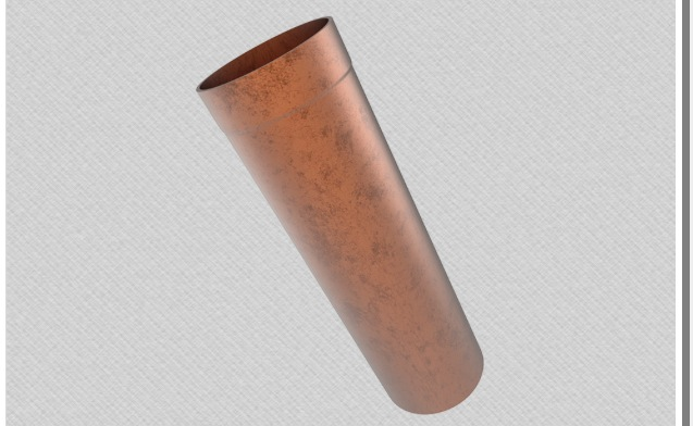 Aluminium Round Pipes 100mm