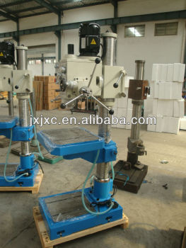 Upright drilling machine