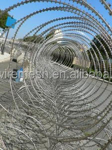 Chinese manufacture Concertina Razor Barbed Wire Factory (ISO, SGS, CE)