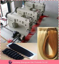 Hair Weave Making Machine,Three Head Human Hair Weft Sewing Machine