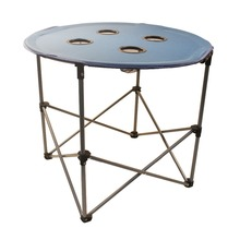 600D Oxford round folding camping table