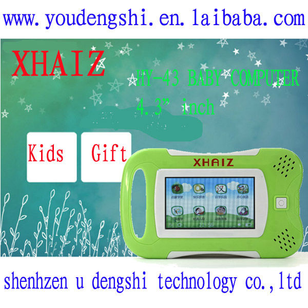 "4.3"" XHAIZ HY-43 Children Tablet New Products Looking For Distributor"