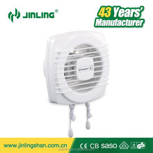 6 inch CE/CB AC Motor Power Plastic Glass Mount Ventilating Fans