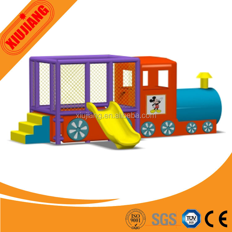 New Design Train Indoor Plastci Kids Playhouse,Kids Cubby House ...