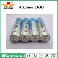 1.5V Alkaline AAA LR03 Battery Dry Batteries Single Use Battery