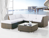 synthetic rattan outdoor garden sofa furniture set factory