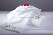 Motels use superfine thin cotton face towels