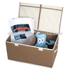 Hot selling storage boxes,slotted storage box,fabric boxes for clothes