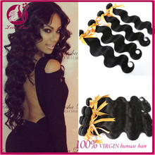 Wholesale grade 8a unprocessed 100% virgin malaysian body wave hair latch hook hair weave