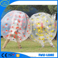 Chinese Bubble Soccer/bumper ball rent for adult inflatable human soccer ball