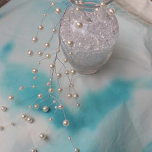 decorative 6/8/10/12MM Hanging Beaded Branch Spray plastic pearl bead curtain