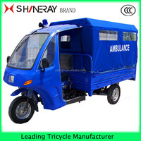 hot sale cargo tricycle for adult ambulance tricycle disabled tricycle