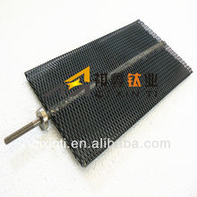 Electrolytic cell anode titanium mesh MMO coating