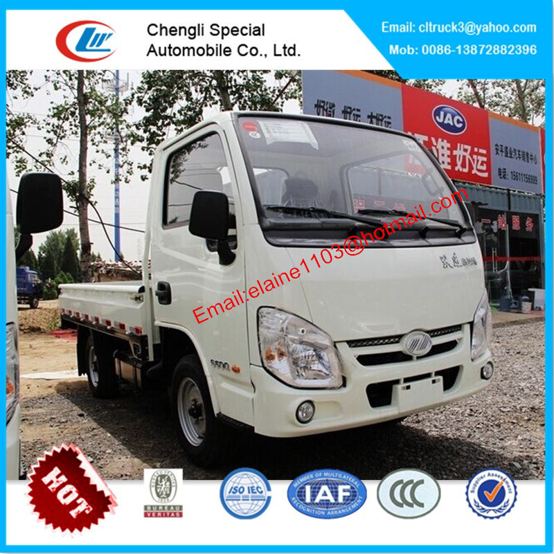 Yuejin small diesel trucks for sale,mini truck with cargo box