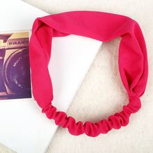 2016 hot sale low price China Manufacturer elastic rubber sport hairband