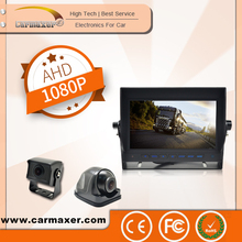 7'' monitor stand AHD monitor with camera for truck security system