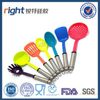 High Quality 7 pieces nylon kitchen mixing tools set kitchen utensils and equipment