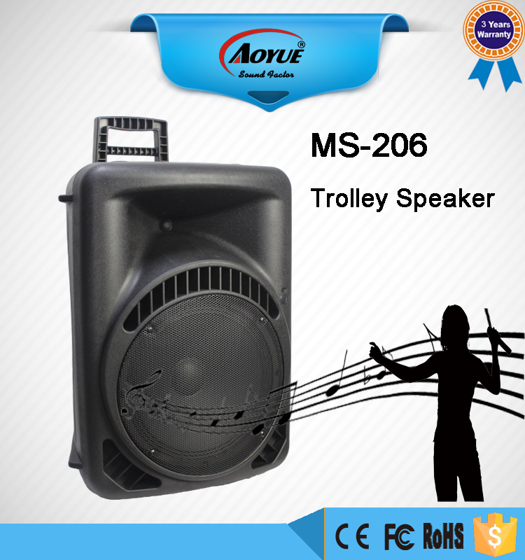 MS-206 tutor wall speaker with plastic molded speaker cabinet