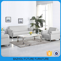 Foshan eMASS living room furniture leather sofa sala set