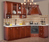 simple design high quality cheap price of solid wood kitchen cabinet kitchen furniture