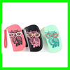 New Women Casual Wallets Round Owl Clutch Checkbook Money Clip