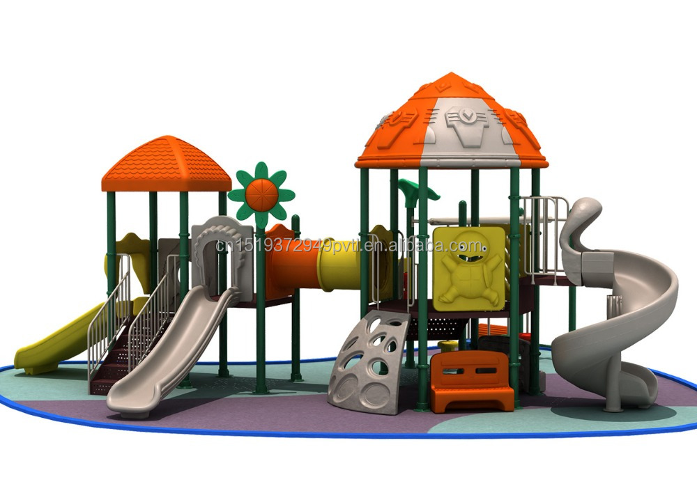 Hot Selling Children Outdoor Playsets,School Playground Games Plastic Slides