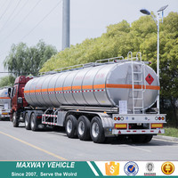 Tri Axle Aluminium Alloy Fuel Oil