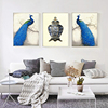 New Product Peacock Animal Oil On Canvas Painting
