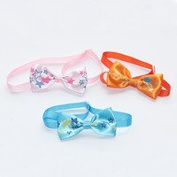 Fashion Design Silk Ribbon Pet Bow Tie All goods is Hand Made Limited Quantity 31 CM V1147