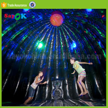 China disco dome house bouncy bouncing castles inflatable trampoline bounce round rental