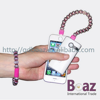 Micro USB Charger ceramic Beads Bracelet Data Charging Cable